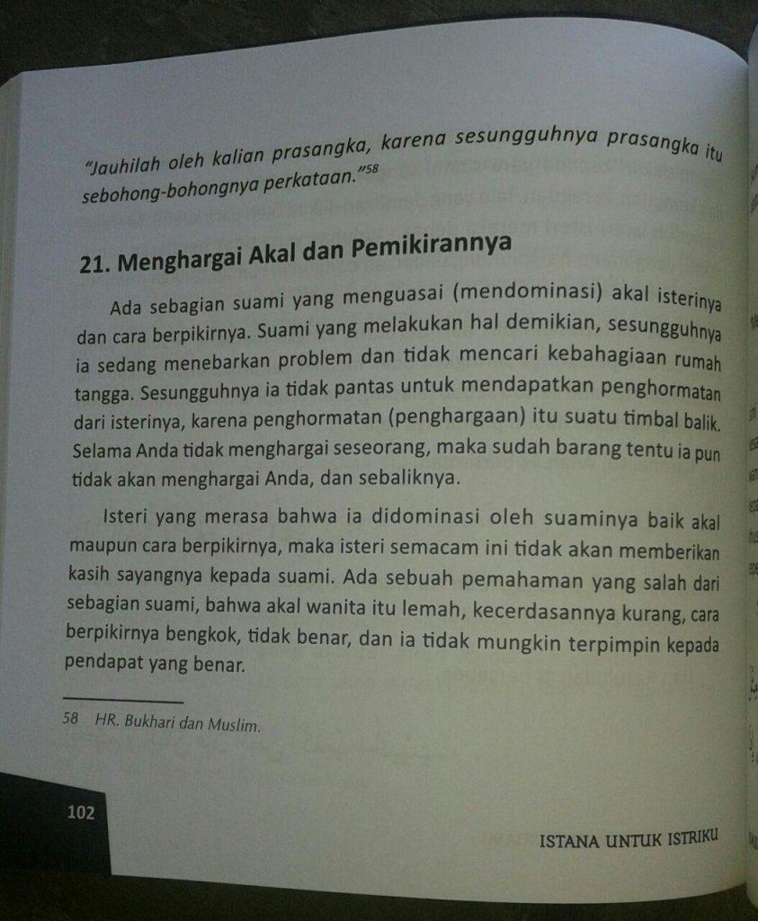 Buku Istana Untuk Istriku & 47 Nasihat Menjadi Suami Idaman isi 3