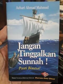 Buku Saku Jangan Tinggalkan Sunnah Pasti Binasa Cover