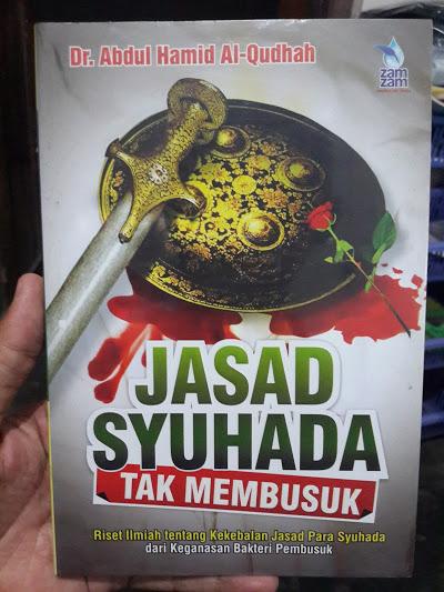 Buku Jasad Syuhada Tak Membusuk Cover