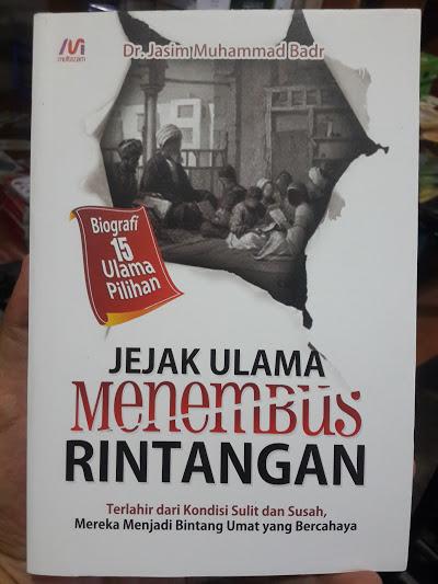 Buku Jejak Ulama Menembus Rintangan Cover
