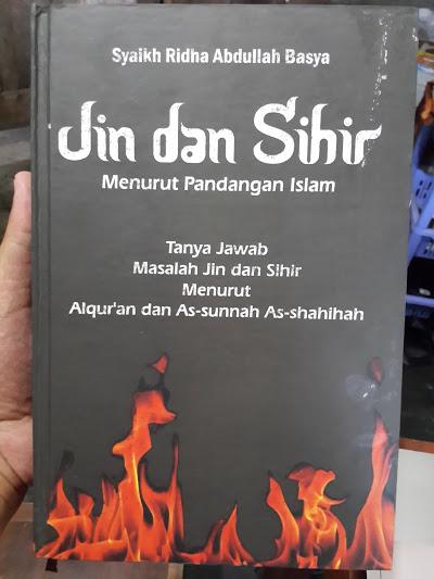 Buku Jin Dan Sihir Tanya Jawab Masalah Jin Dan Sihir Cover