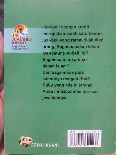 Buku Jual Beli Kredit Bagaimana Hukumnya Cover 2