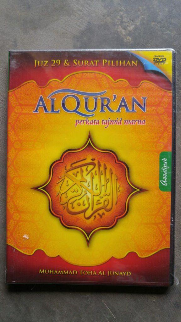 Video DVD Juz 29 & Surat Pilihan Muhammad Toha Al Junayd cover