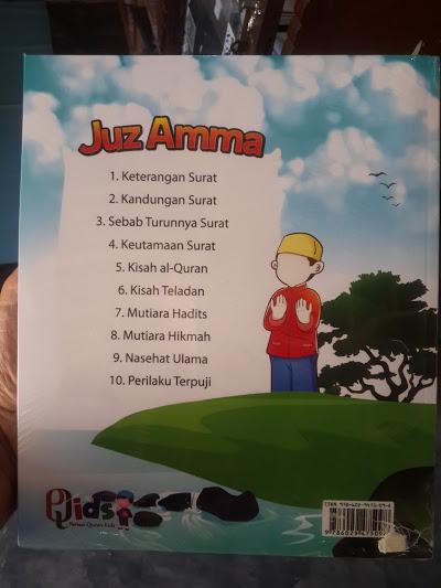 Buku Anak Juz Amma Cover Belakang