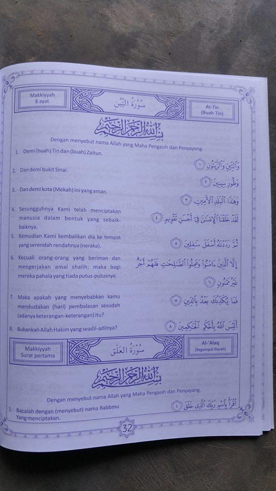 Buku Juz Amma Dan Terjemah isi 2