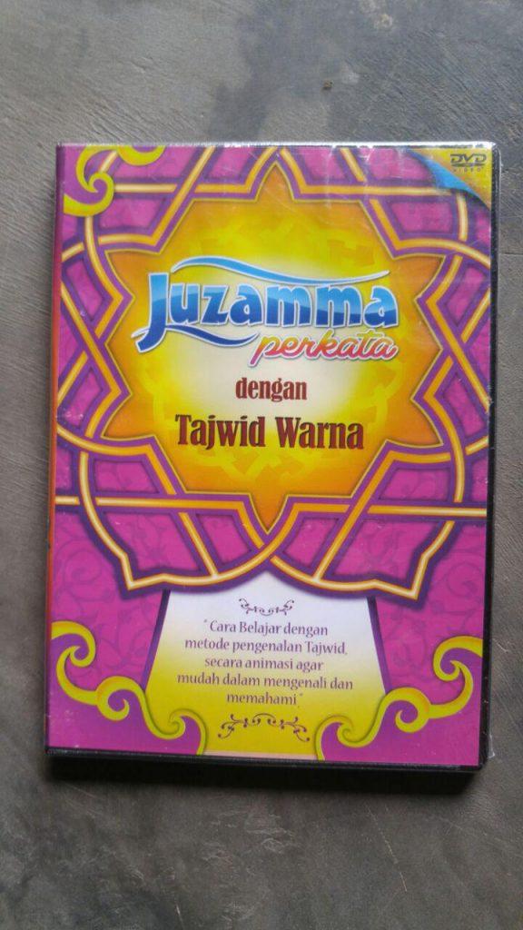 Video DVD Juz Amma Perkata Dengan Tajwid Warna cover