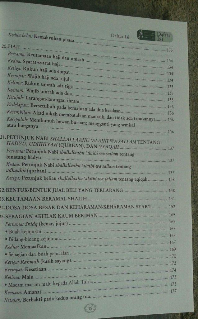 Buku Juz Amma Tafsir Singkat & Terjemah Serta 31 Bab Penting isi 5