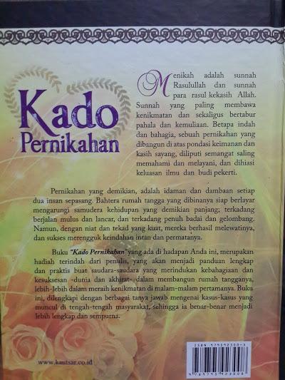 Buku Kado Pernikahan Mempelai Cover 2