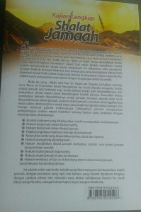 Buku Kajian Lengkap Shalat Jamaah Hukum Manfaat Permasalahan cover 2