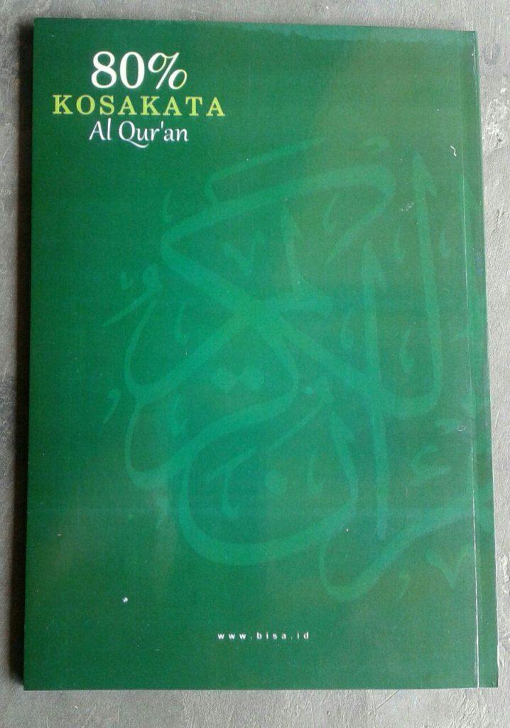 Buku Kamus Kecil 80 % Kosa Kata Al-Qur'an cover 2