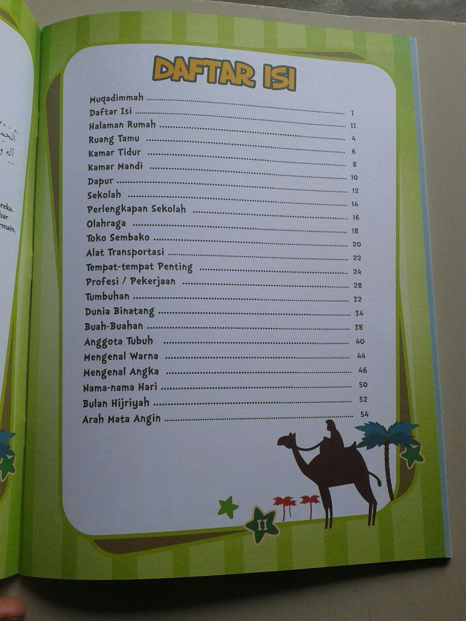 Buku Kamus Arab Untuk Anak Kosa Kata Sehari Hari Dilengkapi Gambar isi 2