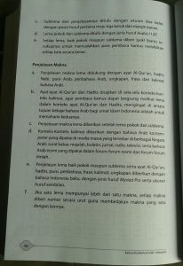 Buku Kamus Kontekstual Arab- Indonesia isi 2
