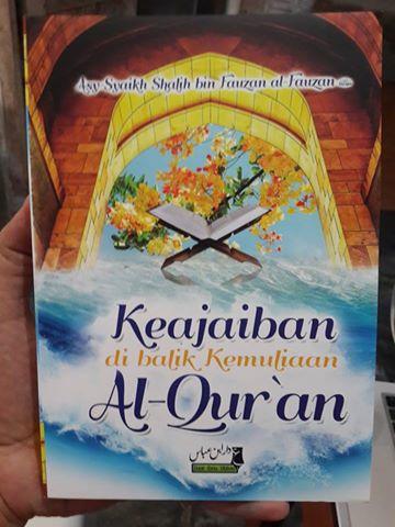 keajaiban dibalik kemuliaa al-Qur'an buku cover