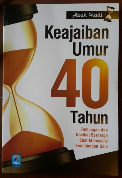 Buku Keajaiban Umur 40 Tahun Cover