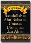 Buku Kejeniusan Rasulullah Abu Bakar Umar Usman dan Ali