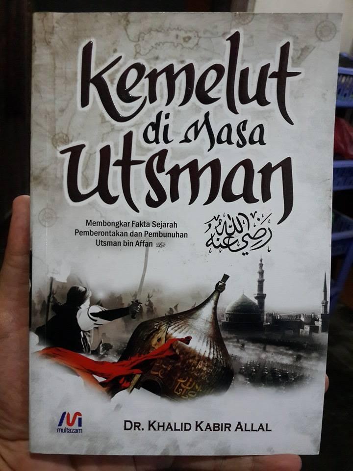 Buku Kemelut Di Masa Utsman bin Affan Cover