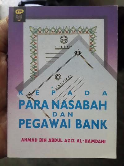Buku Saku Kepada Para Nasabah Dan Pegawai Bank Cover