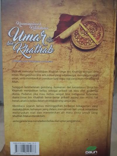 Buku Kepemimpinan Dan Keteladanan Umar bin Khathab Cover 2