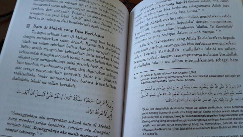 Buku Kesaktian Batu Ajaib Bukti Runtuhnya Aqidah Umat Isi