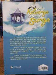 Buku Ketika Keluarga Tak Seindah Surga Cover Belakang