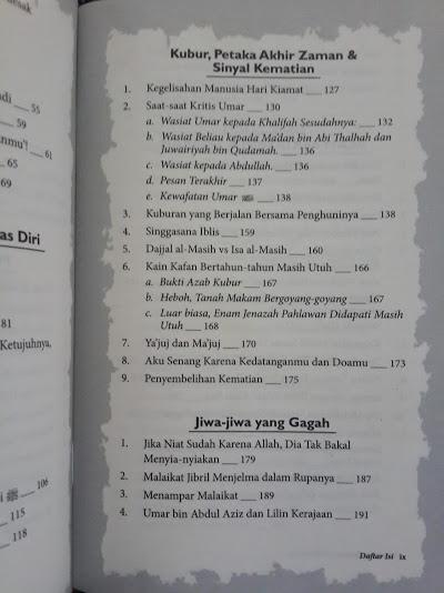 Buku Ketika Malaikat Tak Bersayap 78 Kisah Penuh Hikmah Daftar Isi