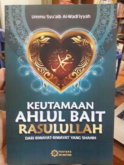 Buku Keutamaan Ahlul Bait Rasulullah Dari Riwayat Shahih Cover