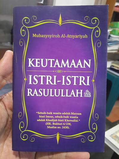 Buku Saku Keutamaan Istri-Istri Rasulullah Cover