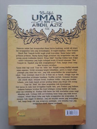 Khalifah Umar Bin Abdul Aziz Cover Belakang