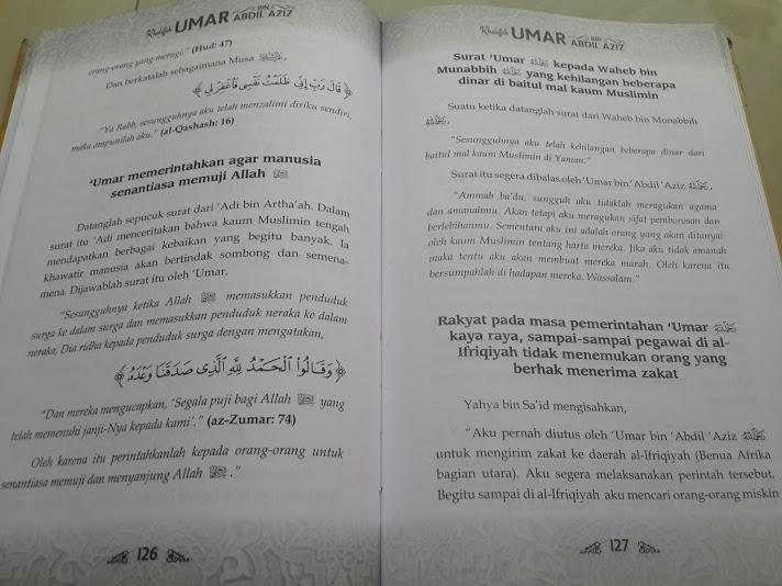 Khalifah Umar Bin Abdul Aziz Isi