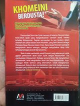 Khomeini Berdusta Terhadap Ahlussunnah buku cover