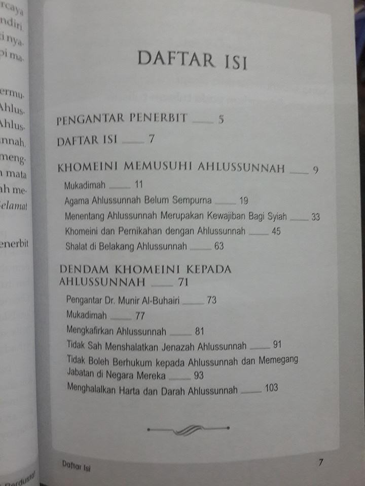 Khomeini Berdusta Terhadap Ahlussunnah buku isi 2