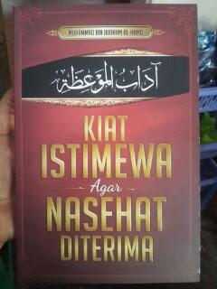 Kiat Istimewa Agar Nasehat Diterima Cover
