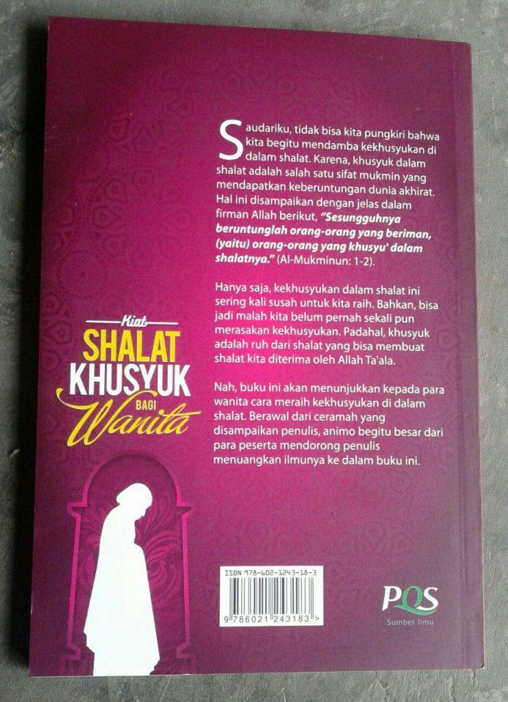 Buku Kiat Shalat Khusyuk Bagi Wanita cover