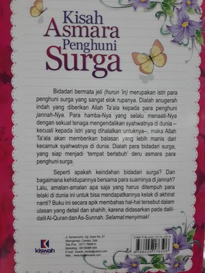 Buku Kisah Asmara Penghuni Surga Cover 2