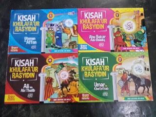 Buku Anak Kisah Khulafaur Rasyidin Set