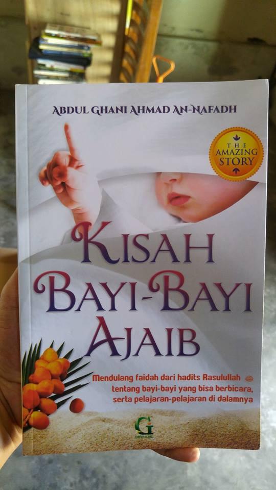 Buku Kisah Bayi-Bayi Ajaib cover