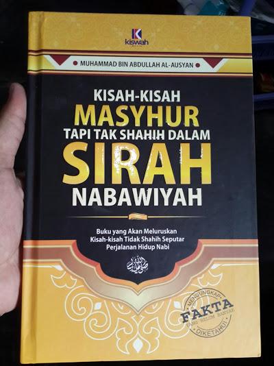 Buku Masyhur Tapi Tak Shahih Dalam Sirah Nabawiyah Cover