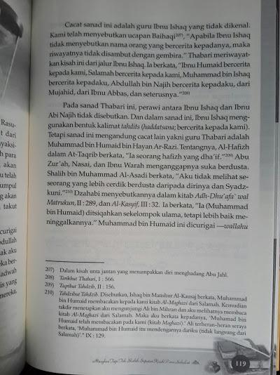 Buku Masyhur Tapi Tak Shahih Dalam Sirah Nabawiyah Cover Belakang Isi