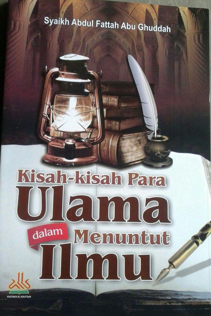 Buku Kisah Kisah Para Ulama Dalam Menuntut Ilmu cover 2