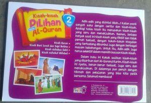 Buku Anak Kisah Kisah Pilihan Dalam Al-Quran Jilid 2 cover