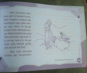 Buku Anak Kisah Kisah Pilihan Dalam Al-Quran Jilid 2 isi 3