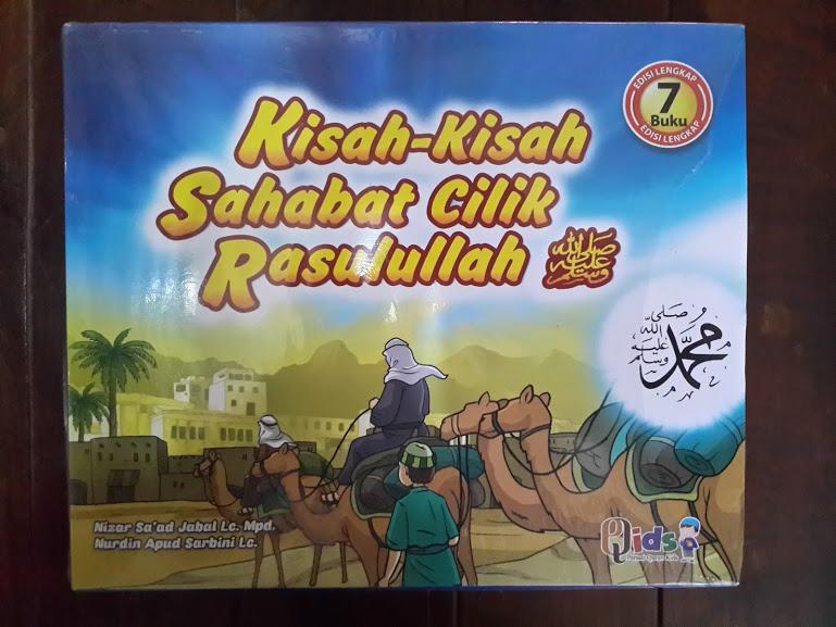 Buku Anak Kisah-Kisah Sahabat Cilik Rasulullah Cover