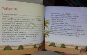 Buku Anak Kisah Nabi Muhammad Daftar Isi
