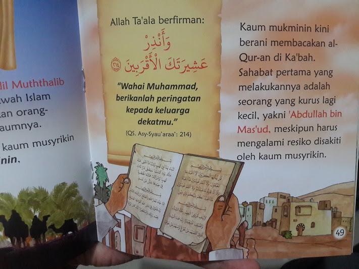 Buku Anak Kisah Nabi Muhammad Isi