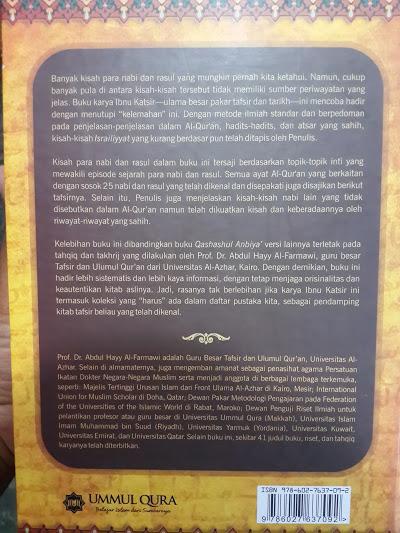 Buku Kisah Para Nabi 31 Nabi Dari Adam Sampai Isa Cover 2