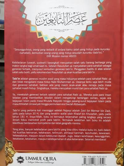 Buku Kisah Para Tabi'in Cover 2