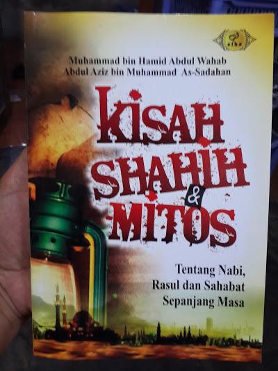 Buku Kisah Shahih Dan Mitos Tentang Nabi Rasul Sahabat Cover
