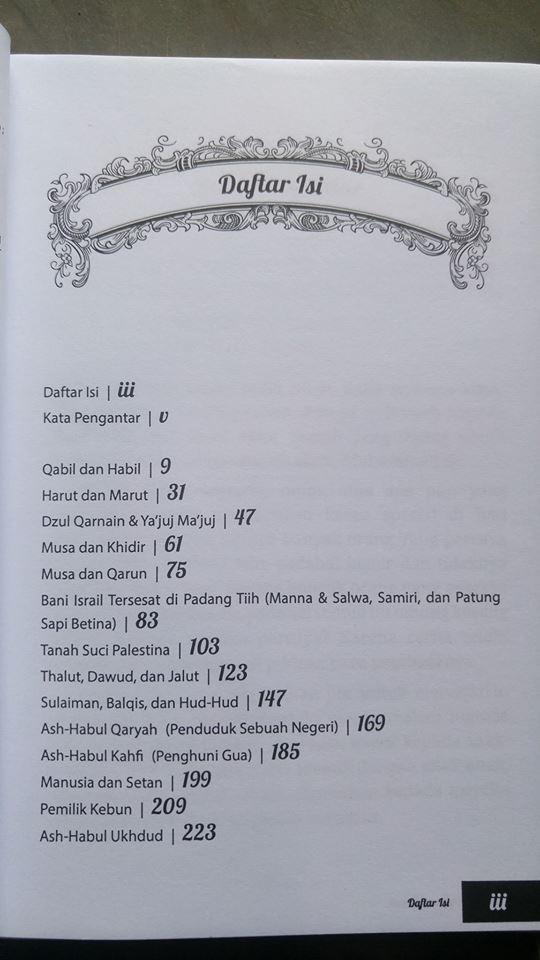 Buku Kisah Teladan Dalam Al-Qur'an isi 2