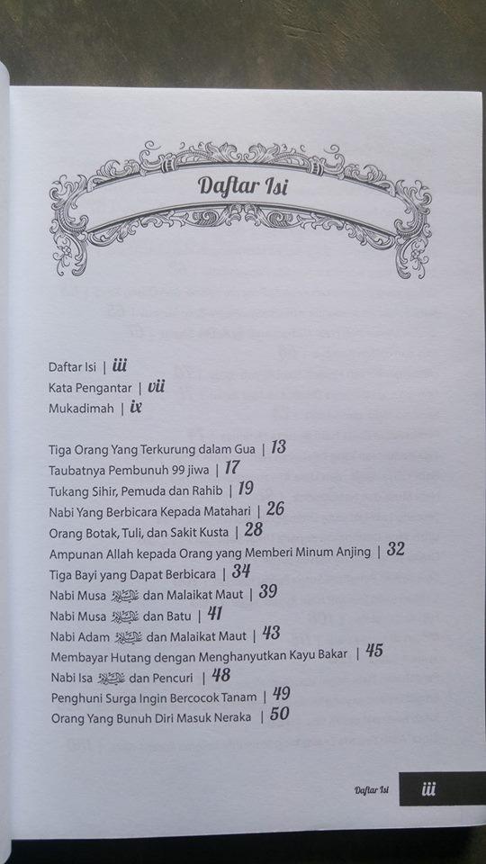 Buku Kisah Teladan Dalam Hadits isi 2