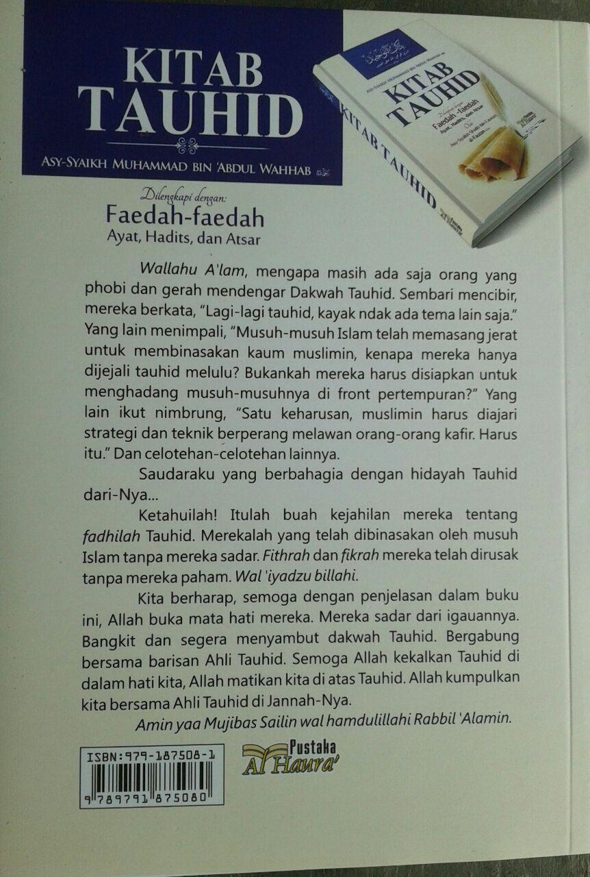 Buku Kitab Tauhid Dilengkapi Faedah Faedah Ayat Hadits Atsar cover